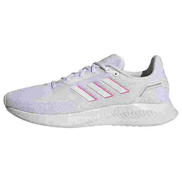 adidas Run Falcon 2.0 Laufschuh Laufschuhe Damen Cloud White / Cloud White / Screaming Pink