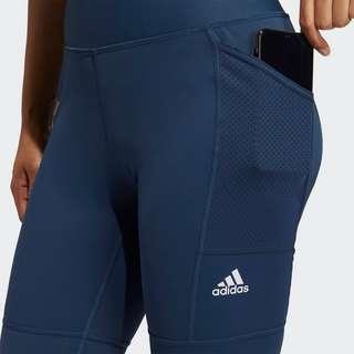 adidas UV Techfit Tight Golfhose Damen Blau