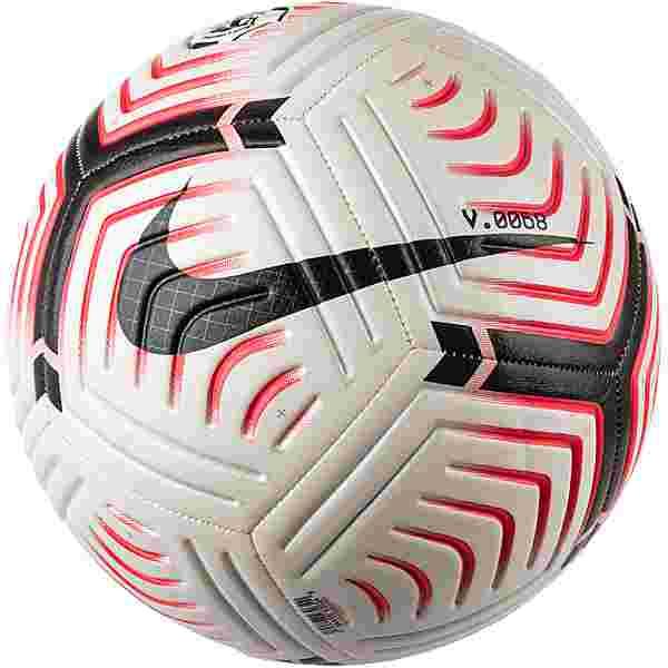 Nike Premier League Strike Fußball white-laser crimson-black-black