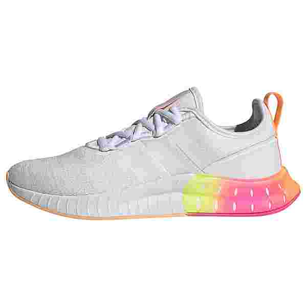 adidas Kaptir Super Schuh Laufschuhe Damen Cloud White / Cloud White / Acid Orange
