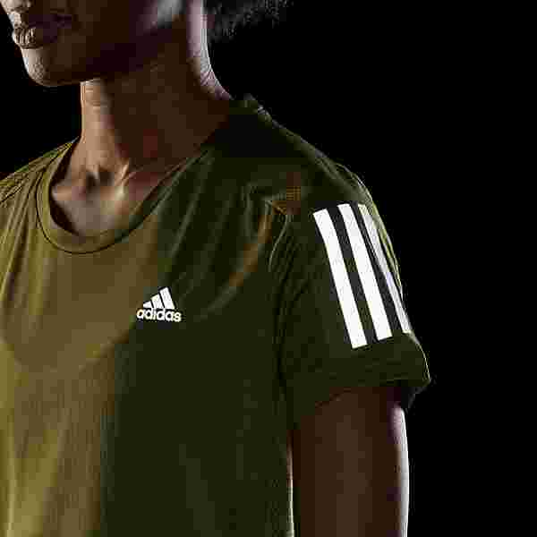 adidas Own the Run T-Shirt T-Shirt Damen Grün