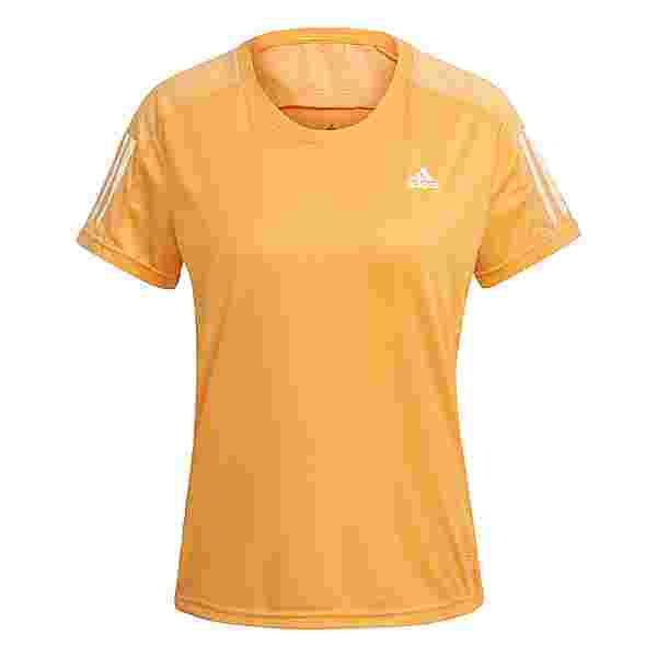 adidas Own the Run T-Shirt T-Shirt Damen Orange