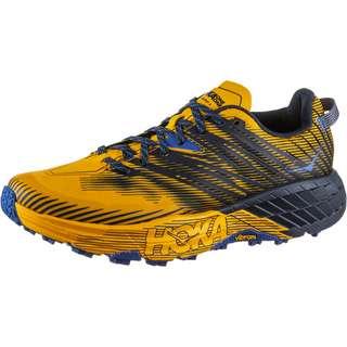 Hoka One One SPEEDGOAT 4 Trailrunning Schuhe Herren saffron-black iris