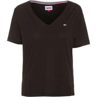 Tommy Hilfiger V-Shirt Damen black