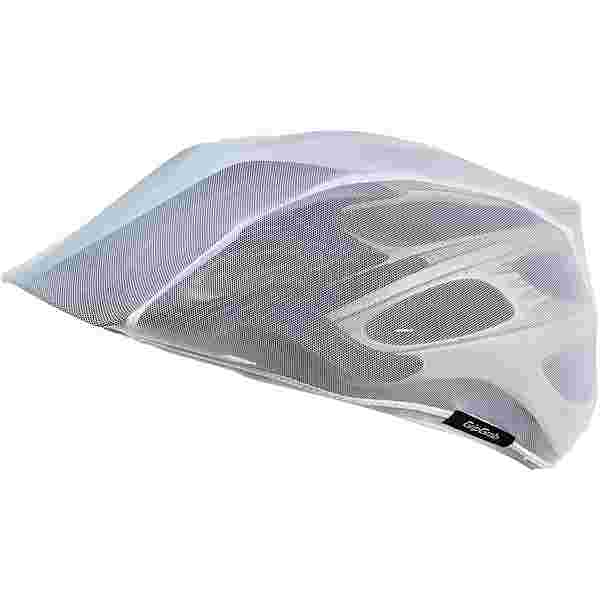 GripGrab BugShield Helmet Cover Fahrradhelmüberzug white
