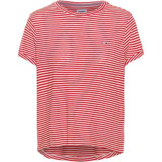 Tommy Hilfiger T-Shirt Damen deep crimson-multi