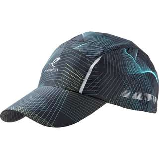 ENERGETICS Luana Cap Damen black night-blue aqua-green lime