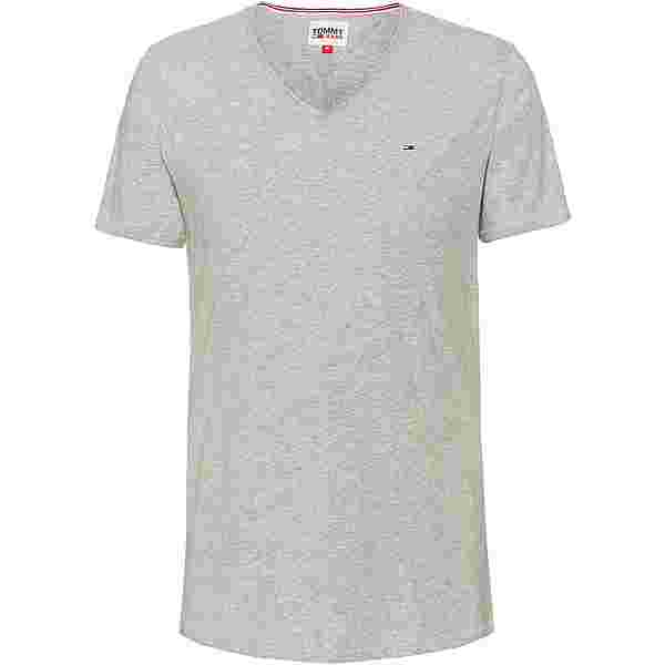 Tommy Hilfiger Jaspe V-Shirt Herren light grey heather
