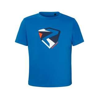Ziener NADEN Junior Printshirt Kinder persian blue