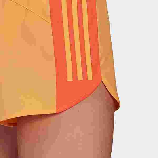 adidas Run It Shorts Funktionsshorts Damen Hazy Orange / True Orange