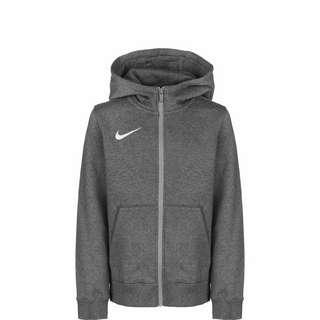 Nike Park 20 Fleece Trainingsjacke Kinder dunkelgrau / weiß