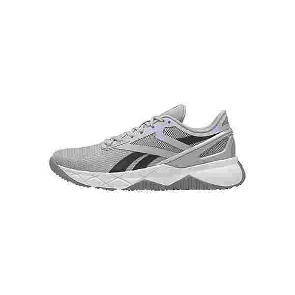 Reebok Nanoflex TR Shoes Fitnessschuhe Damen Cold Grey 2 / Core Black / Cloud White