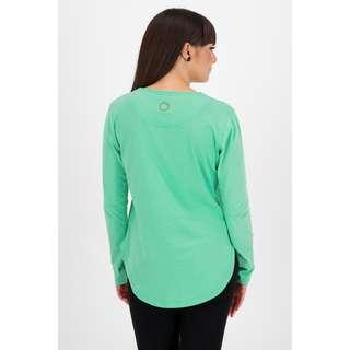ALIFE AND KICKIN Langarmshirt Damen emerald