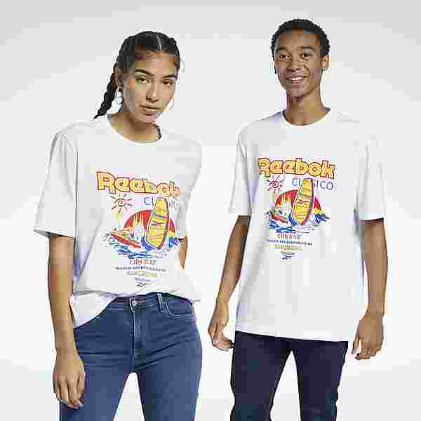 Reebok Classics T-Shirt T-Shirt Herren Weiß