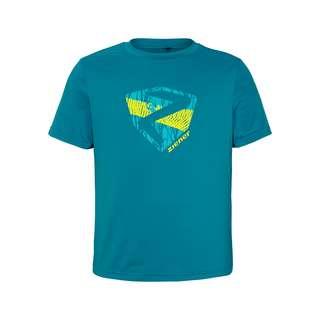 Ziener NADEN Junior Printshirt Kinder crystal blue