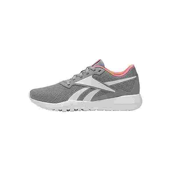 Reebok Flexagon Energy 3 MemoryTech Shoes Fitnessschuhe Damen Pure Grey 4 / Chalk / Twisted Coral