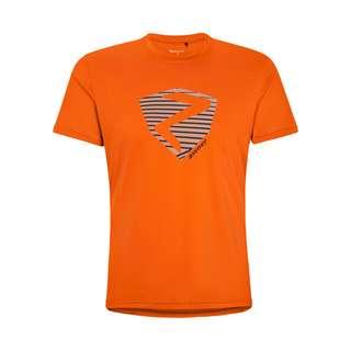 Ziener NOLAF Printshirt Herren orange pop