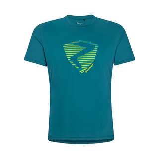 Ziener NOLAF Printshirt Herren crystal blue