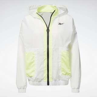 Reebok MYT Woven Jacket Trainingsjacke Damen Weiß