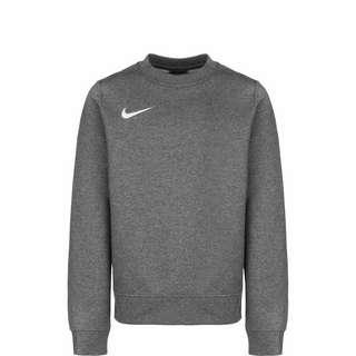 Nike Park 20 Fleece Crew Funktionssweatshirt Kinder dunkelgrau / weiß