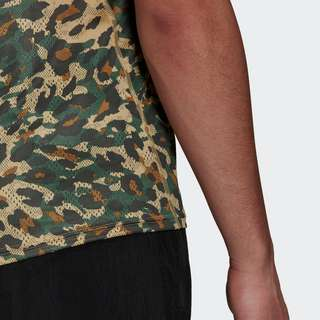 adidas Fast Primeblue Graphic T-Shirt T-Shirt Herren Beige