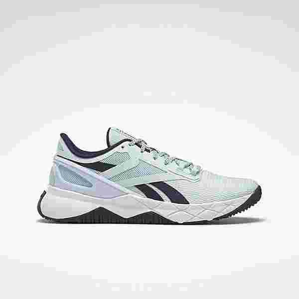 Reebok Nanoflex TR Shoes Fitnessschuhe Damen Chalk Blue / Vector Navy / Cloud White