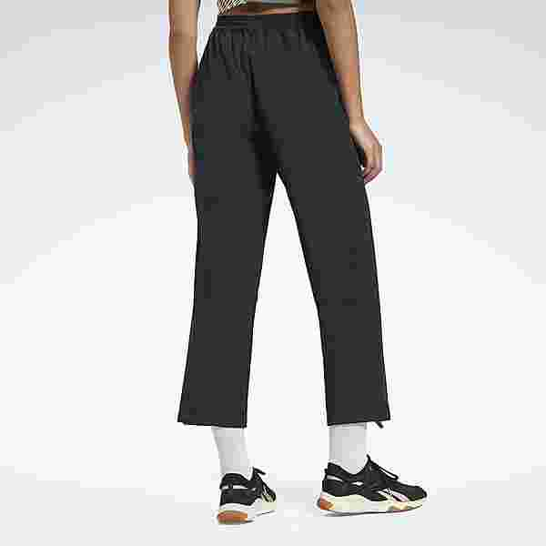Reebok Commercial Woven Pants Trainingshose Damen Schwarz