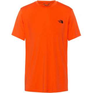 The North Face Reaxion Amp Crew Funktionsshirt Herren flame
