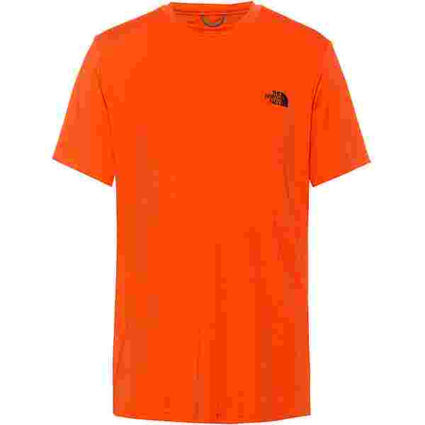 The North Face Reaxion Amp Funktionsshirt Herren flame