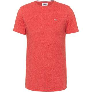 Tommy Hilfiger Jaspe T-Shirt Herren deep crimson