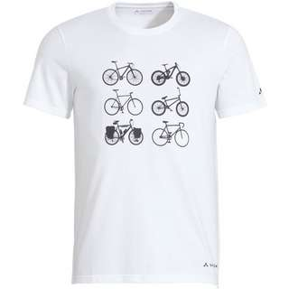 VAUDE Men's Cyclist T-Shirt V Funktionsshirt Herren white