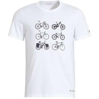 VAUDE Men's Cyclist T-Shirt V Funktionsshirt Herren white