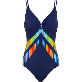Sunflair Badeanzug Damen nachtblau-multicolor