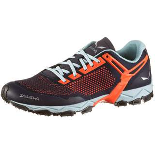 SALEWA LITE TRAIN K Multifunktionsschuhe Damen premium navy-fluo coral