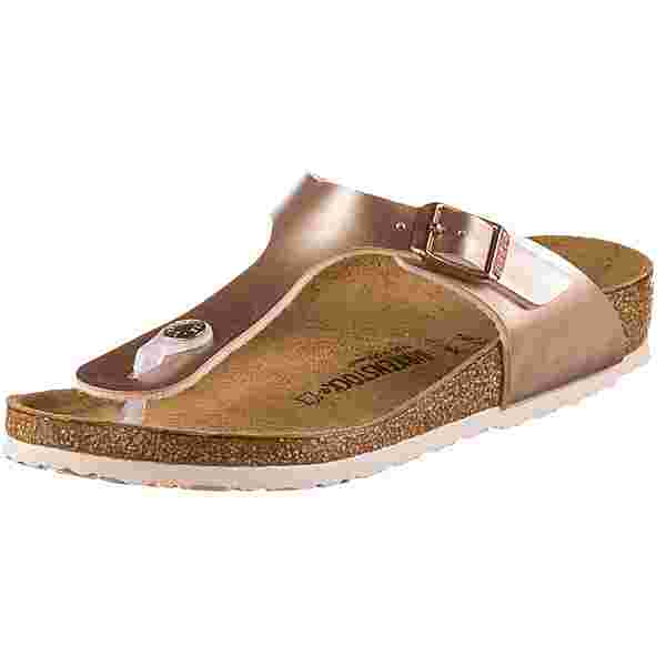 Birkenstock GIZEH Zehentrenner Kinder electric metallic copper