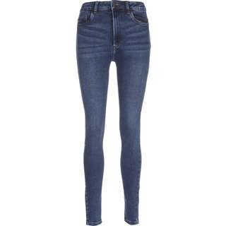 Noisy May Callie Chic HW Skinny Fit Jeans Damen blau