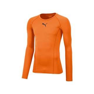 PUMA LIGA Baselayer Longsleeve Hell Funktionsshirt orange