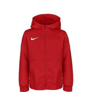 Nike Park 20 Fleece Trainingsjacke Kinder rot / weiß