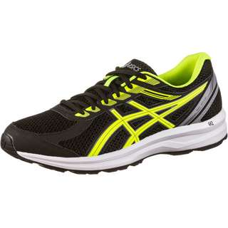 ASICS GEL-BRAID Laufschuhe Herren black-safety yellow