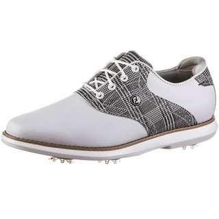Foot Joy FJ Traditions Golfschuhe Damen white-tartan