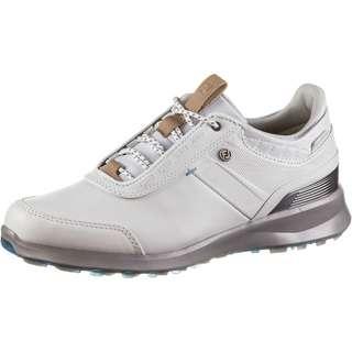 Foot Joy FJ Stratos Golfschuhe Damen white-grey
