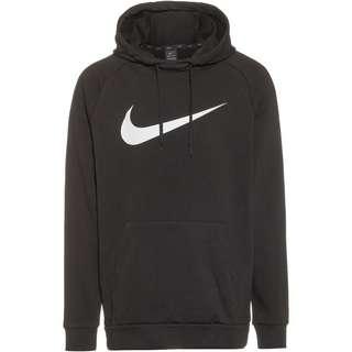 Nike Dry  Swoosh Hoodie Herren black-white
