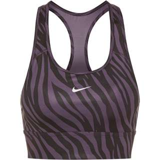 Nike SWOOSH BH Damen dark raisin-white