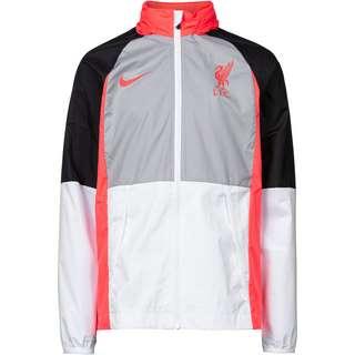 Nike FC Liverpool Air Max Trainingsjacke Kinder wolf grey-white-black-laser crimson