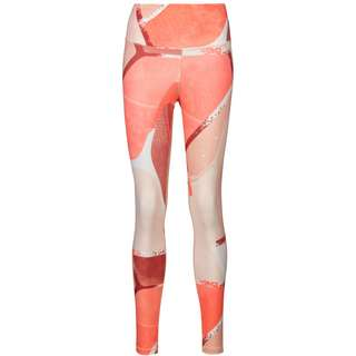 Reebok Lux 2.0 STUDIO Tights Damen orange flare