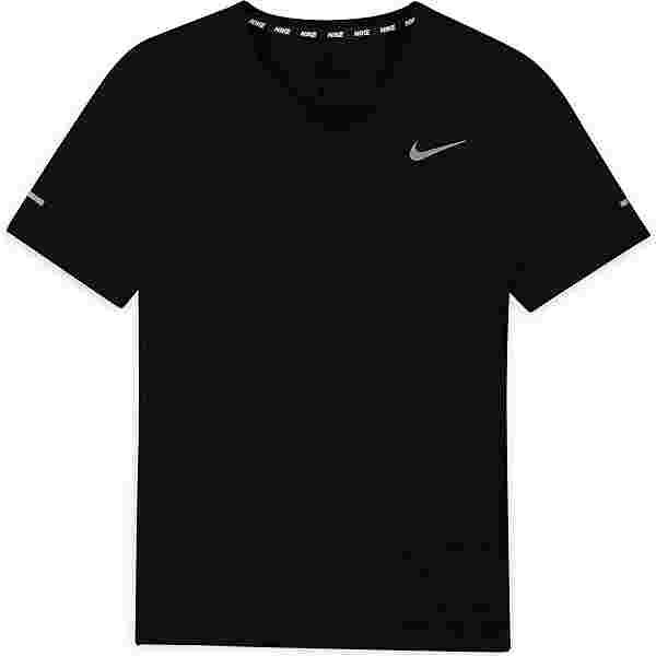Nike Dri-Fit Miler Funktionsshirt Kinder black