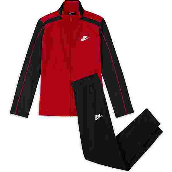 Nike NSW FUTURA Trainingsanzug Kinder university red-black