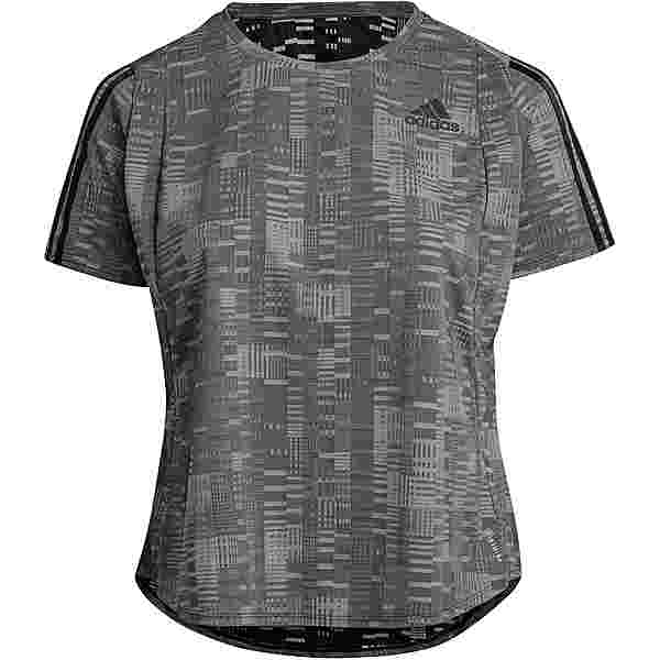 adidas PLUS SIZE Funktionsshirt Damen black-white
