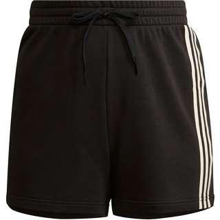 adidas Sweatshorts Damen black-cream white