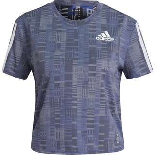 adidas OWN THE PRIMEBLUE SUPERNOVA AEROREADY Funktionsshirt Damen semi night flash-white